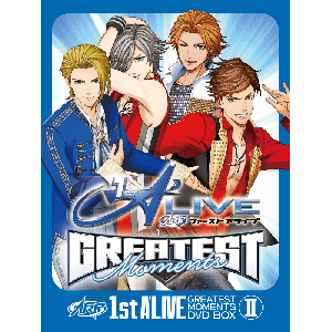 1st A'LIVE GREATEST MOMENTS DVD BOX Ⅱ