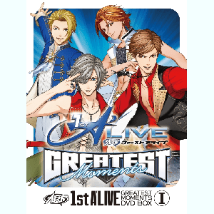 1st A'LIVE GREATEST MOMENTS DVD BOX Ⅰ