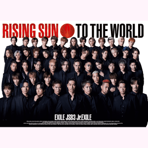 【PHOTO 豪華盤】RISING SUN TO THE WORLD