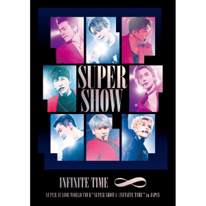 【通常盤】SUPER JUNIOR WORLD TOUR ''SUPER SHOW 8:INFINITE TIME'' in JAPAN (AVBK-79654~5 , AVXK-79656)